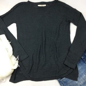3/$15 Loft Crew Neck Knitted Gray Sweater, size XS